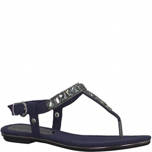 Marco Tozzi 2-2-28112-20 805 NAVY Womens Sandals